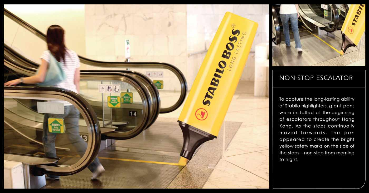 Stabilo-Non-stop-Escalators